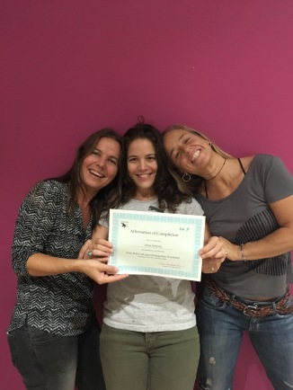 Lorena, Eva and me