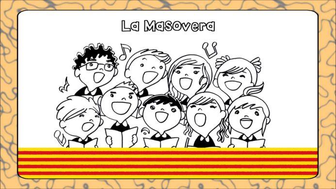 niños cantando la masovera